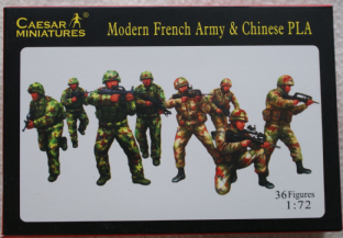 Caesar Miniatures 1/72 CMH059 French Army & Chinese PLA (Modern)